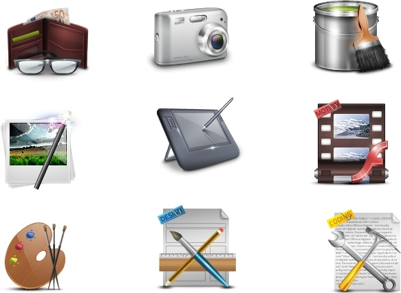 Art Icons icons pack