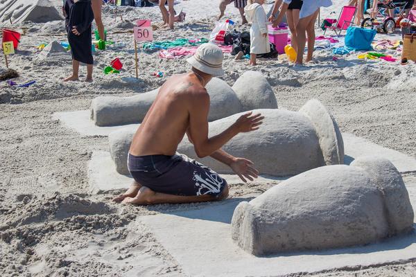art of sand