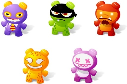 Art Toys Vol.2 icons pack