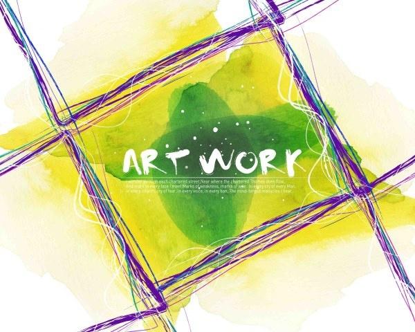 art work ink series psd layered 4