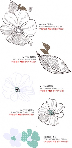 artcity korean fashion gorgeous patterns series 4