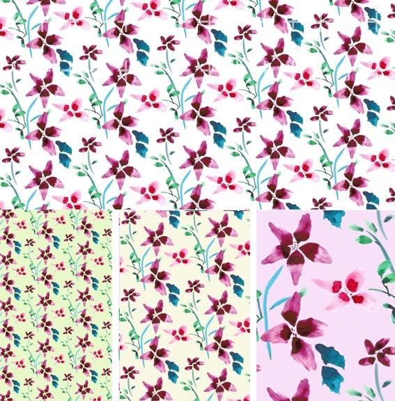 artcity korean fashion gorgeous patterns series psd layered 10