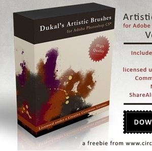 Artistic Brushes Pack 2