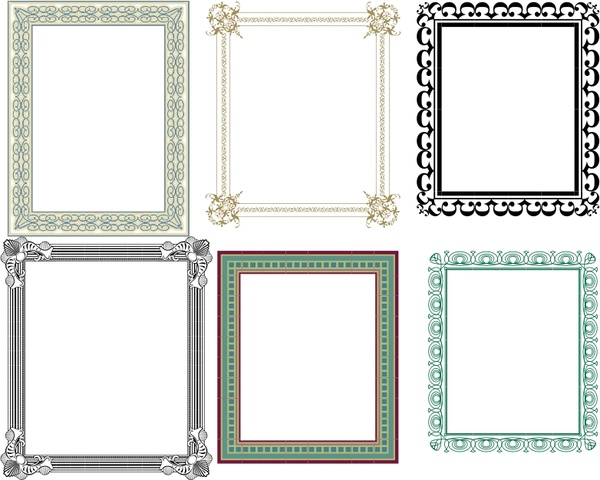 Artistic Frames 2 Free vector in Open office drawing svg ( .svg ...