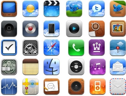 Astra iPhone Theme icons pack