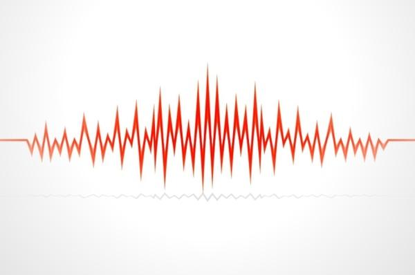 audio wave vector free vector in encapsulated postscript eps eps