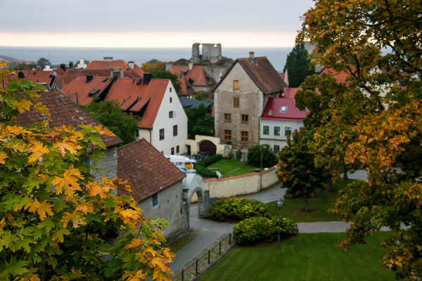 autumn in visby