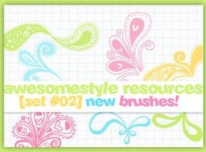 awesomestyle brushes
