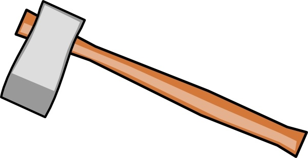 axe clip art free vector in open office drawing svg ( .svg