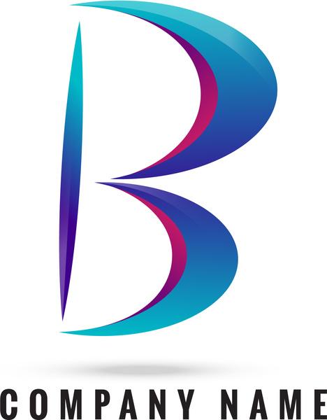 b 3d logo b logo 3d logo vector logo vector art logo