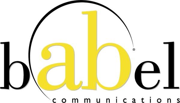 Babel communications 0 Free vector in Encapsulated PostScript eps