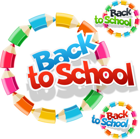 back to school fashion vector