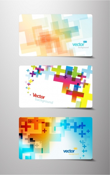 card cover templates modern colorful dynamic decor