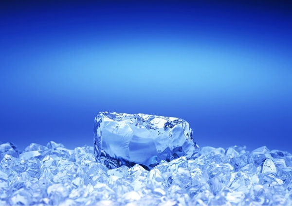 background of highdefinition picture of a cool summer ice