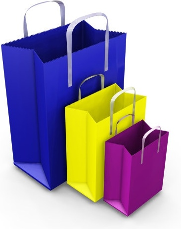 bag color blank paper bag to highdefinition picture