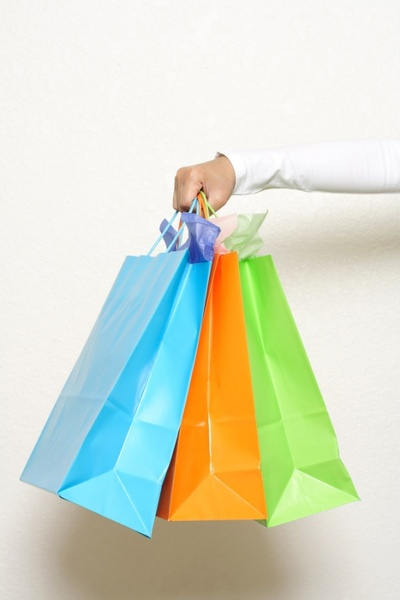 bag hand colored paper bag to highdefinition picture