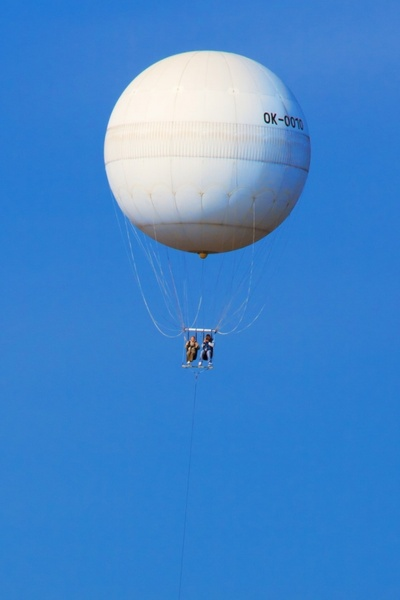 balloon for tourists