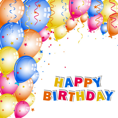 Happy birthday cards design free vector download 15 747 - Birthday cards images free download ...