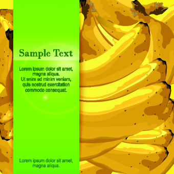 Banana Background Vector Graphic Free Vector In Encapsulated