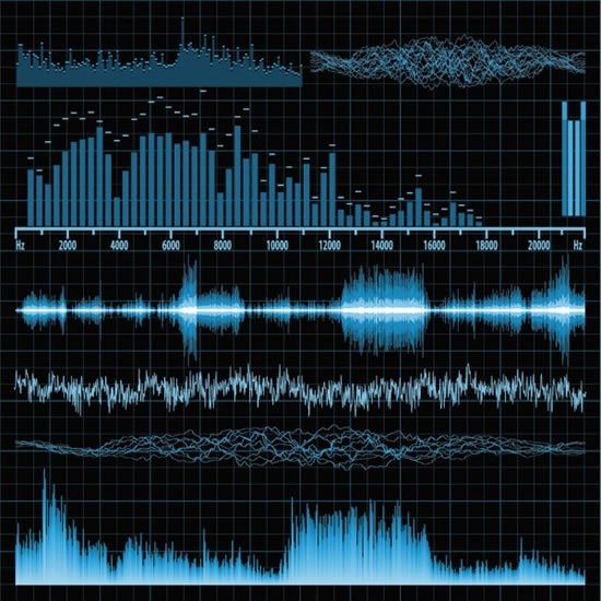 band_music_audio_sound_frequency_vector_