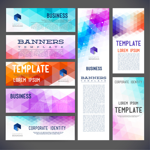 banner business style vector