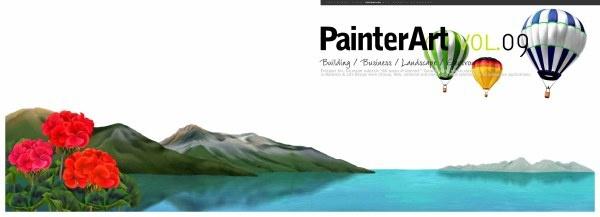 banner illustrator landscape psd layered 10