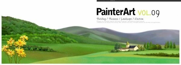 banner illustrator landscape psd layered 2