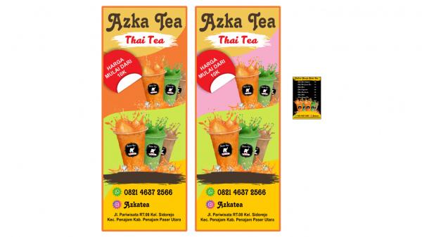 35+ Trends For Banner Thai Tea Design
