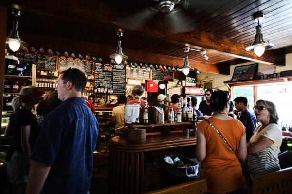 bar coffee drink fan light people pub shop store