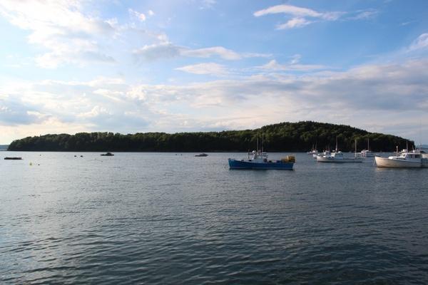 bar island maine lake water
