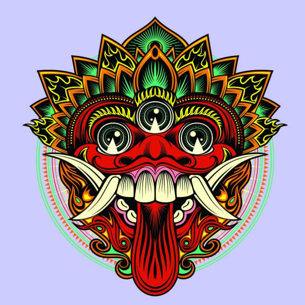 barong bali art free vector in coreldraw cdr cdr format format for free download 1 52mb barong bali art free vector in
