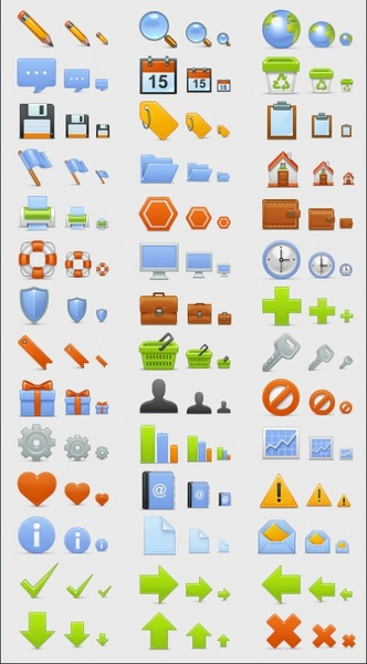 Basic Set icons pack