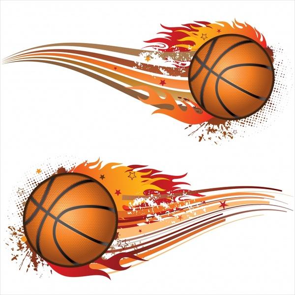Basketball silhouettes vector Free vector in Encapsulated PostScript ... 8fb1e6a076