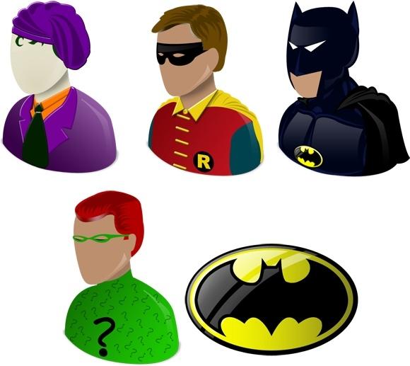 Batman vista Icons icons pack