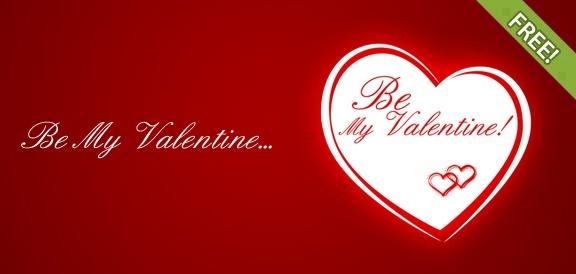 Be my valentine free printable greeting cards template free psd in be my valentine free printable greeting cards template m4hsunfo