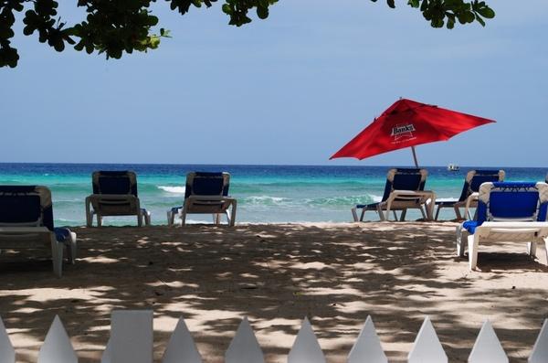 beach beds resort