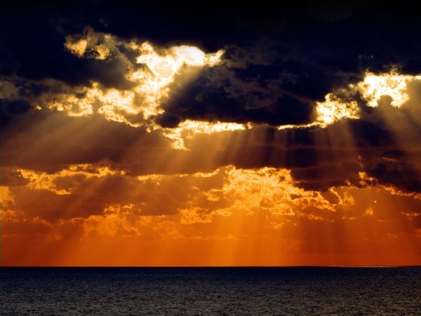 beach sunset scenic 04 hd picture