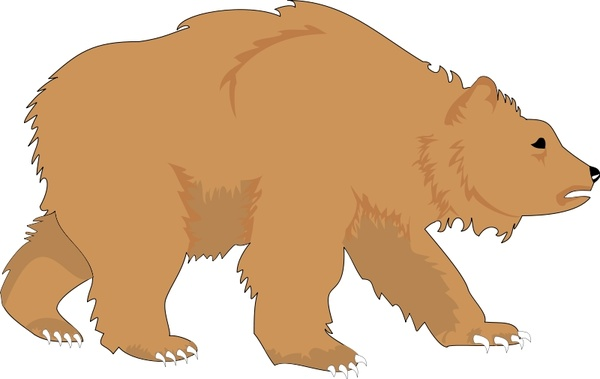 bear 1 free vector in open office drawing svg    svg