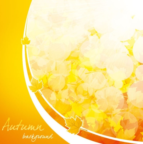 beautiful autumn background 04 vector