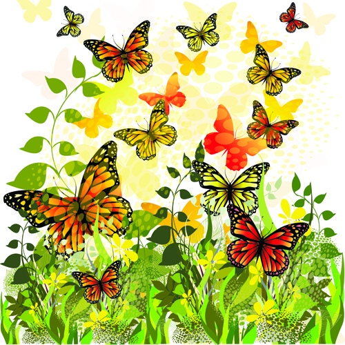 Animated Flying Butterfly Png Free Vector Download (73,079