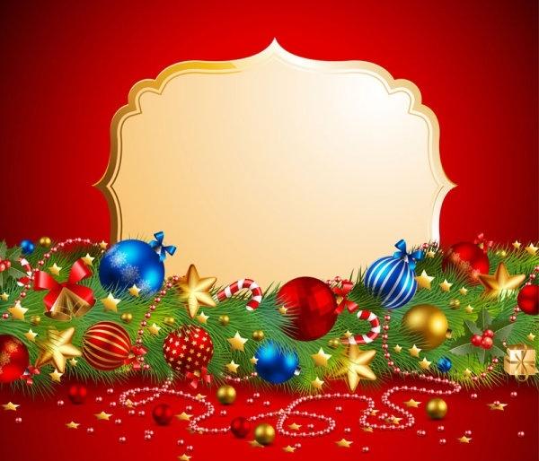 Beautiful Christmas Background.Beautiful Christmas Background 01 Vector Free Vector In