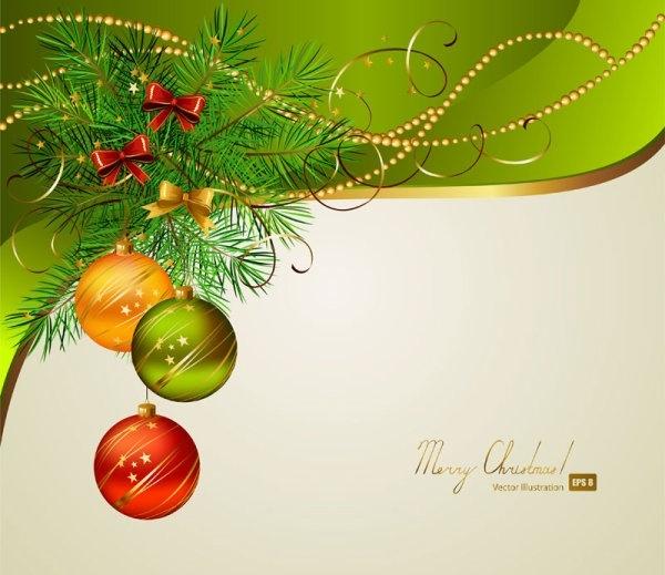 Beautiful Christmas Background Design.Beautiful Christmas Background 01 Vector Free Vector In