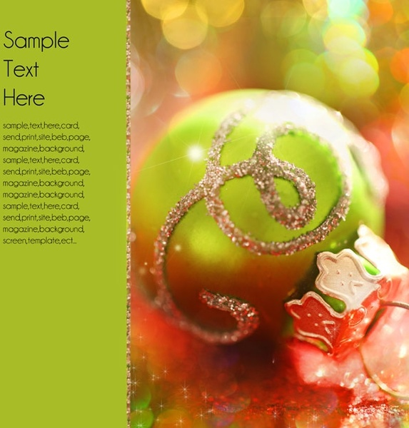 beautiful christmas design elements 38 hd picture