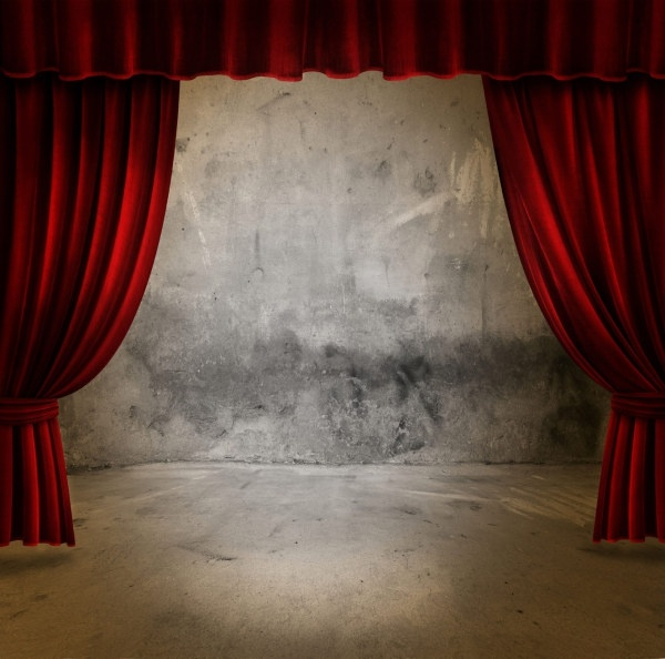 beautiful curtain of highdefinition picture