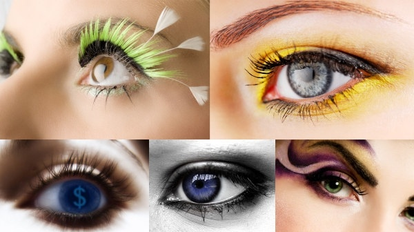 beautiful female eye highdefinition picture 5p