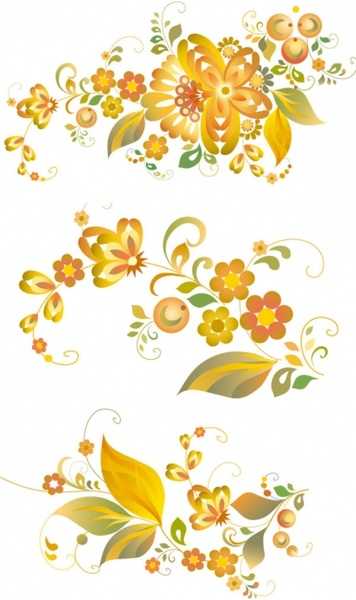 beautiful flower pattern vector free vector in adobe illustrator ai rh all free download com flower watercolor vector pattern vector flower patterns background free download