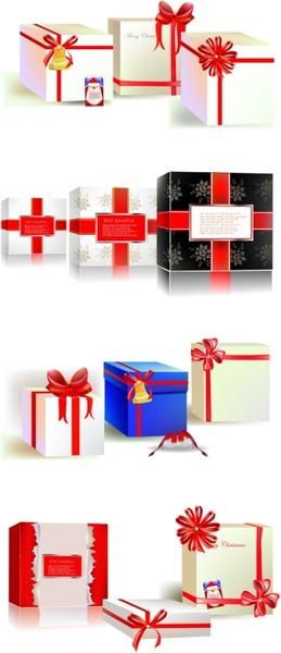 beautiful gift box vector