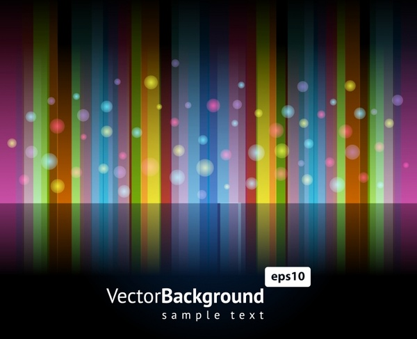 decorative background colorful vertical stripes bokeh decor