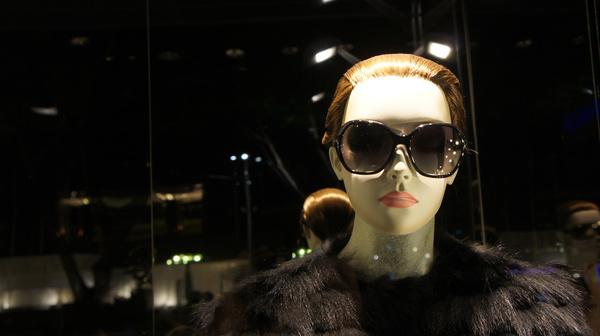 beautiful mannequin woman