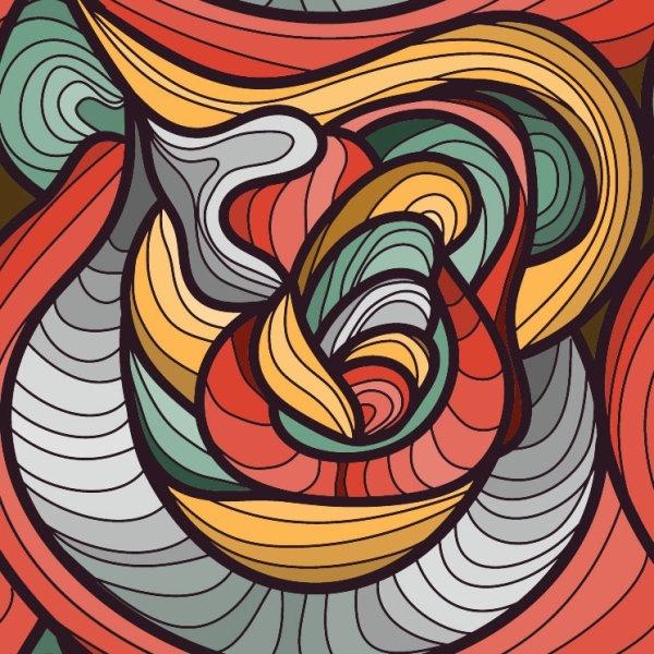 beautiful pattern background 02 vector